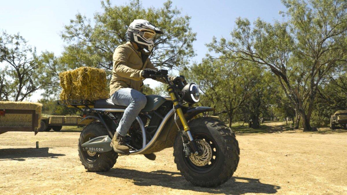 Volcon Grunt электрический мотоцикл