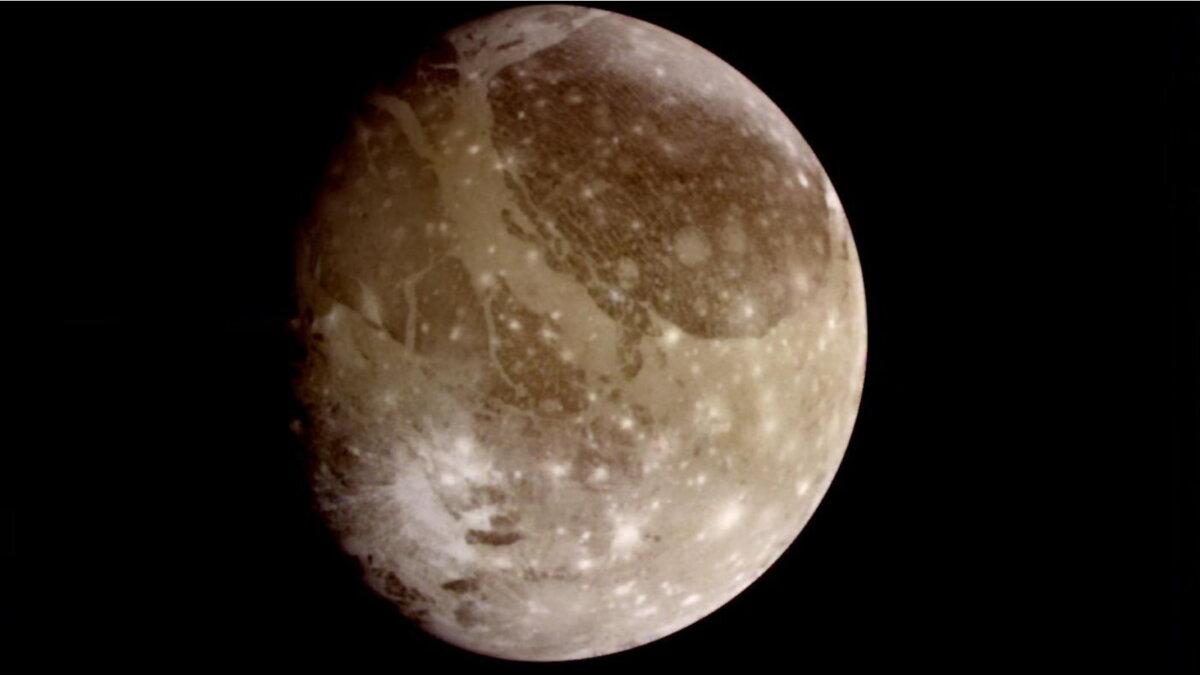 Ганимед самый большой спутник Юпитера