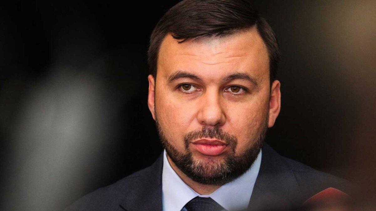Глава Донецкой Народной Республики Денис Пушилин