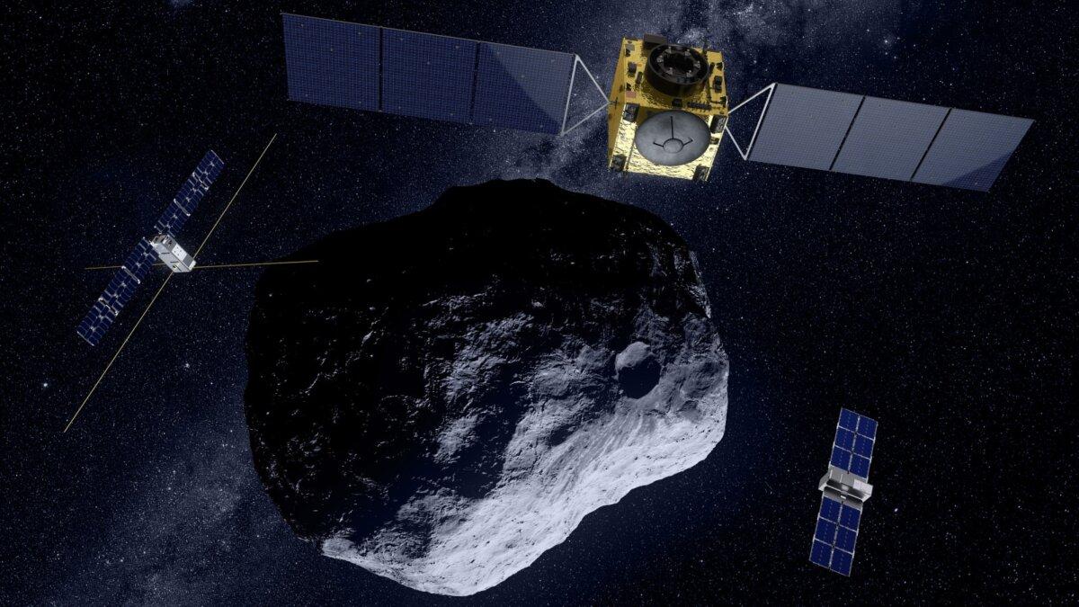 миссия Hera астероид зонды