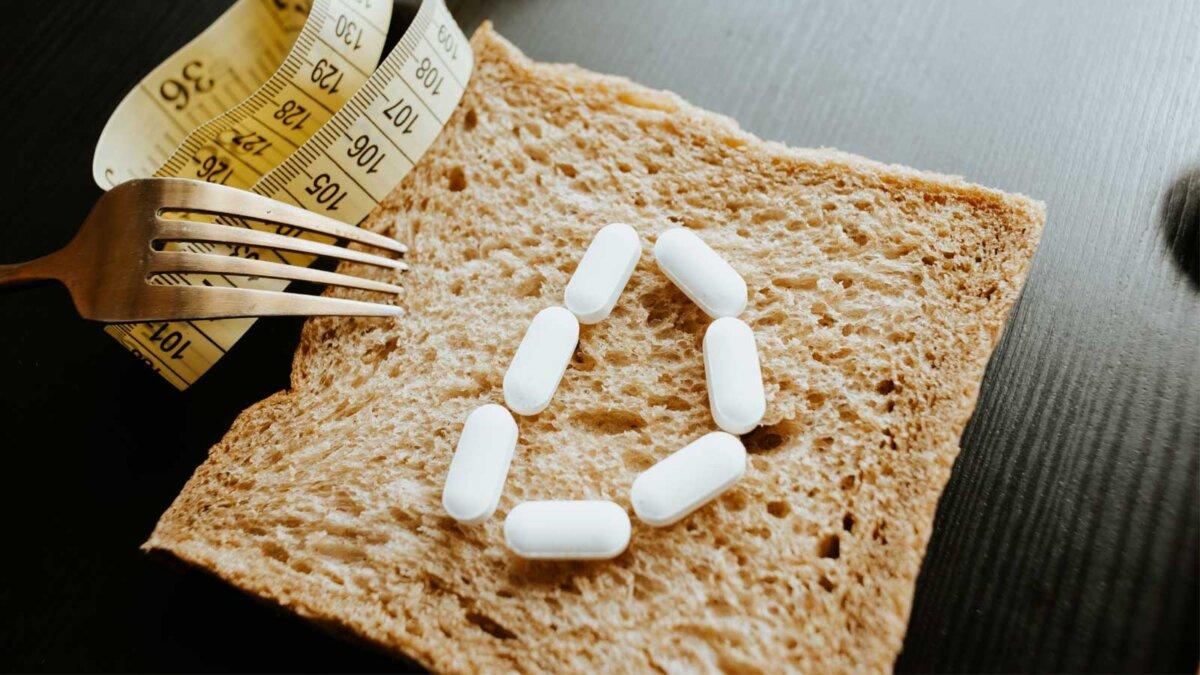 Хлеб вилка таблетки витамин D вес