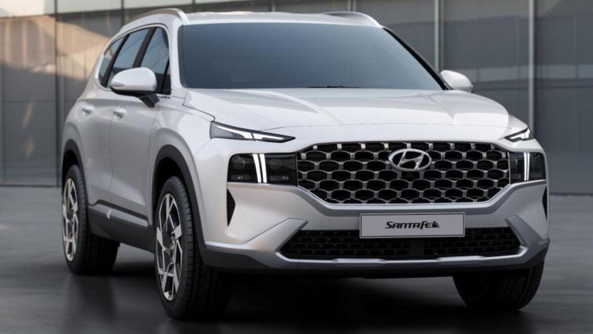 Hyundai Santa Fe 2021 для России