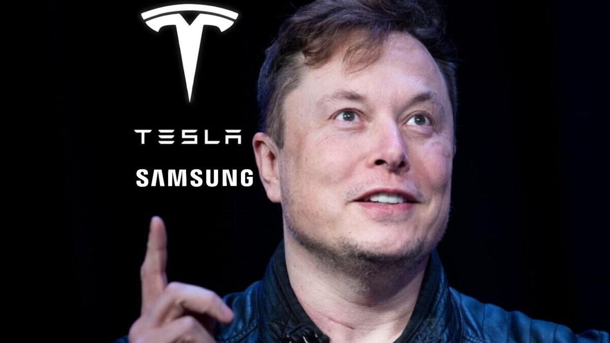Илон Маск Tesla Samsung