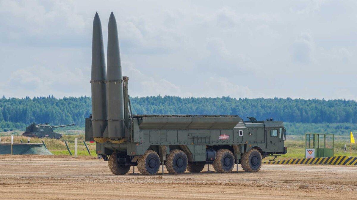 Искандер семейство российских оперативно-тактических ракетных комплексов