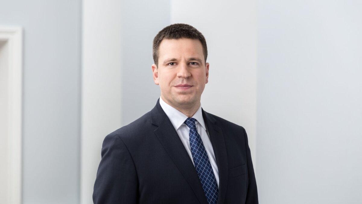Премьер-министр Эстонии Юри Ратас один