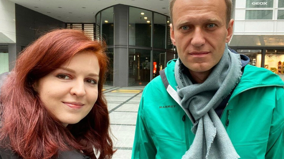 Кира Ярмыш и Алексей Навальный