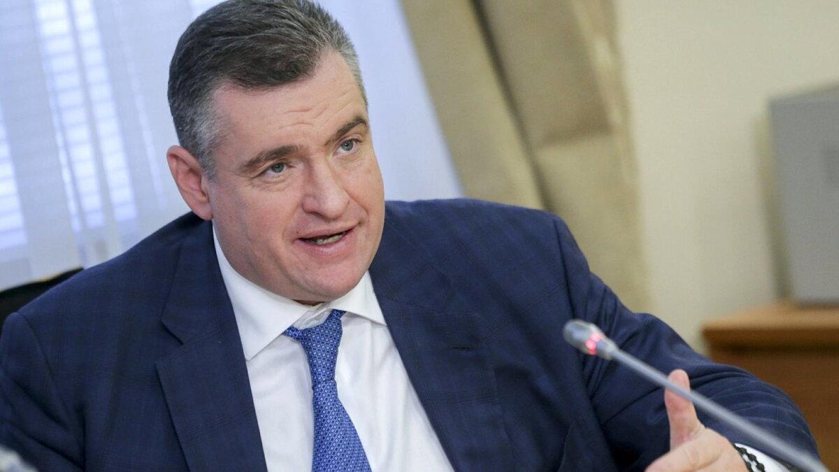 Глава комитета Госдумы по международным делам Леонид Эдуардович Слуцкий