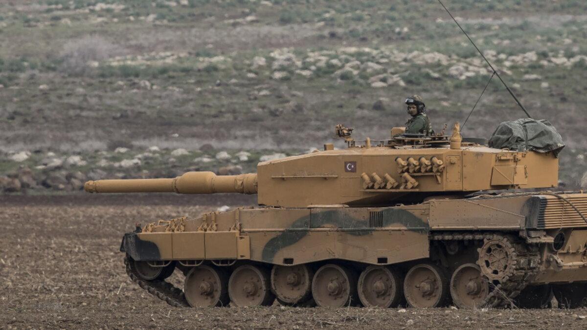 Турецкий танк Leopard 2A4