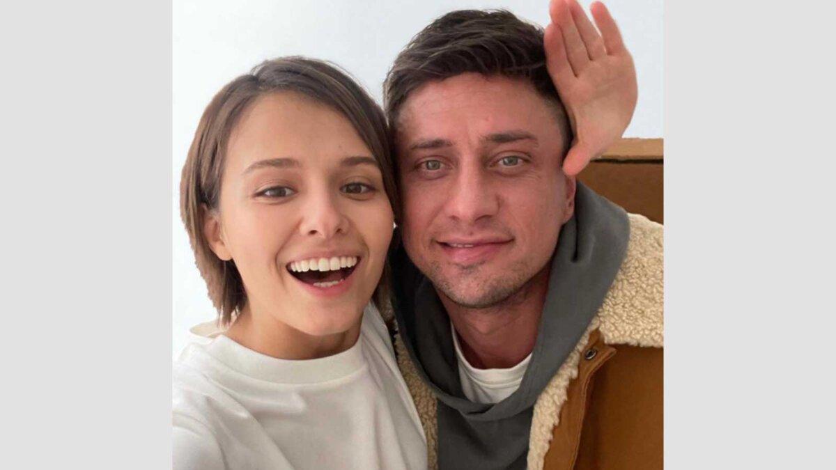 Любовь Аксенова и Павел Прилучный