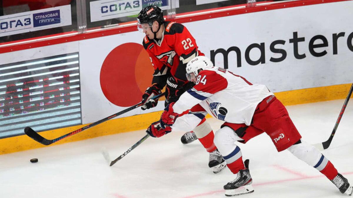 Ярославский Локомотив - омский Авангард хоккей