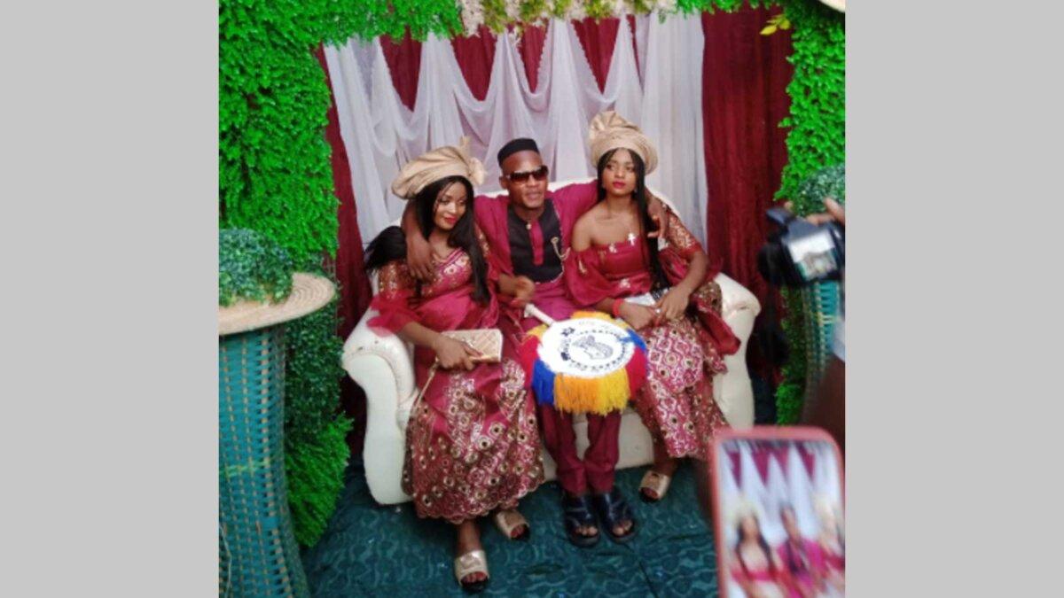 Мужчина женился на сестрах близняшках