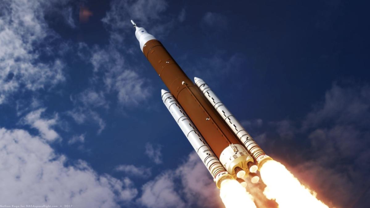 Space Launch System – американская сверхтяжёлая ракета-носитель