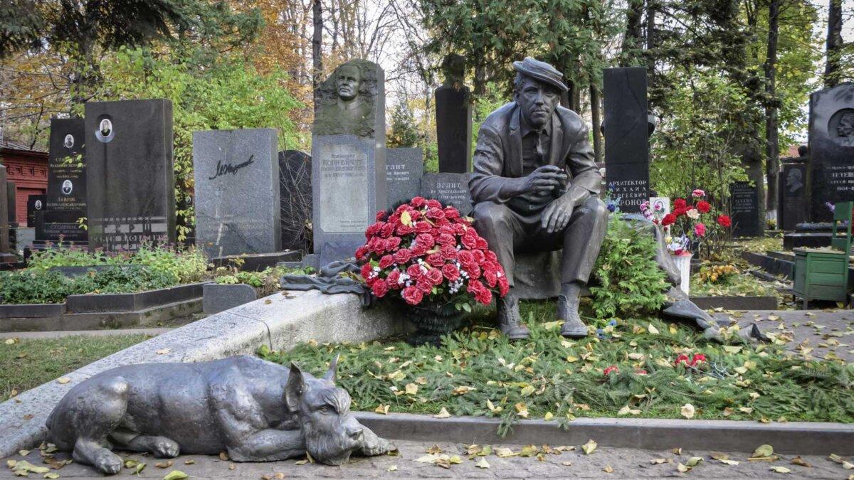 Novodevichy Cemetery Новодевичье кладбище