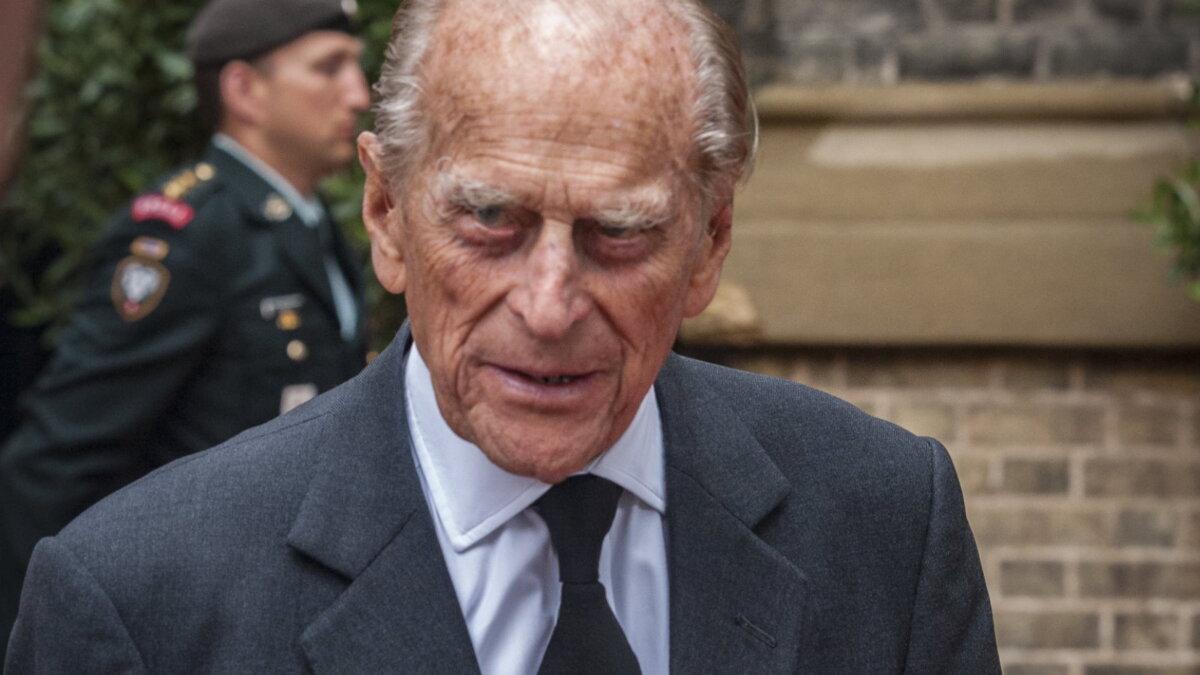 Принц Филипп Маунтбеттен герцог Эдинбургский