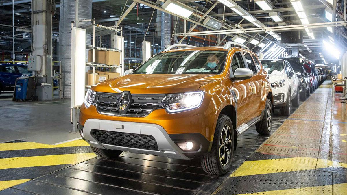 Renault Duster производство завод