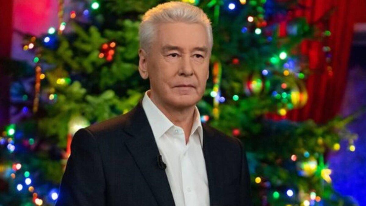 Сергей Собянин Новый год