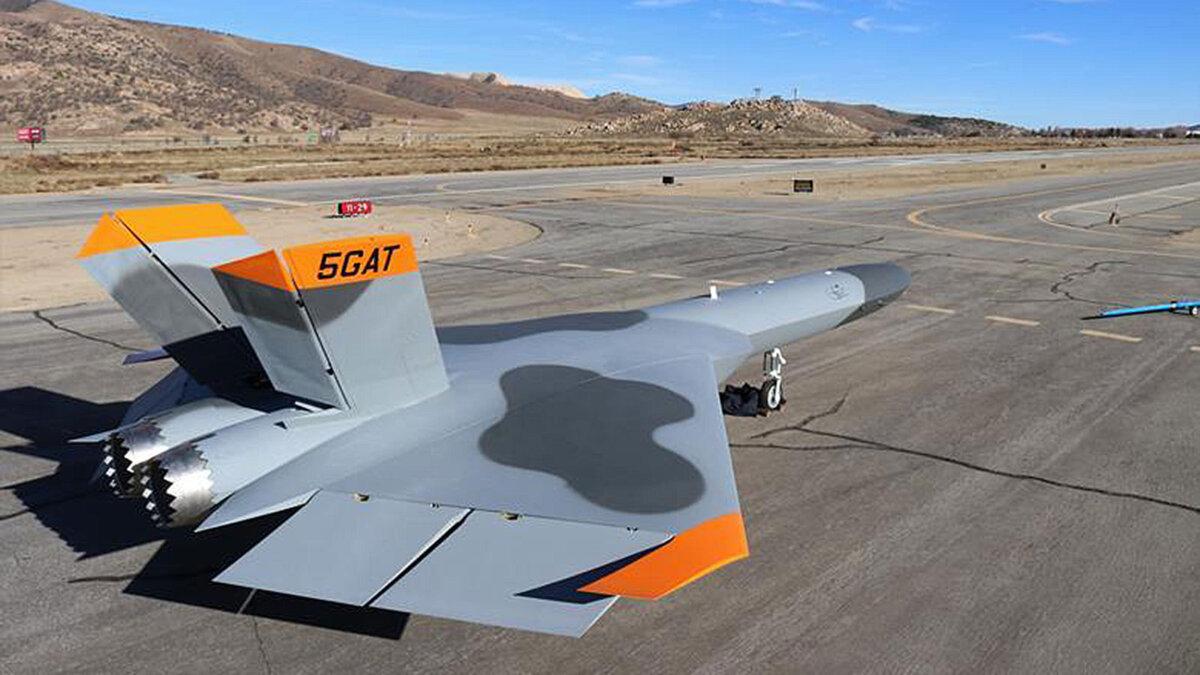 Sierra Technical 5GAT летающая мишень-невидимка