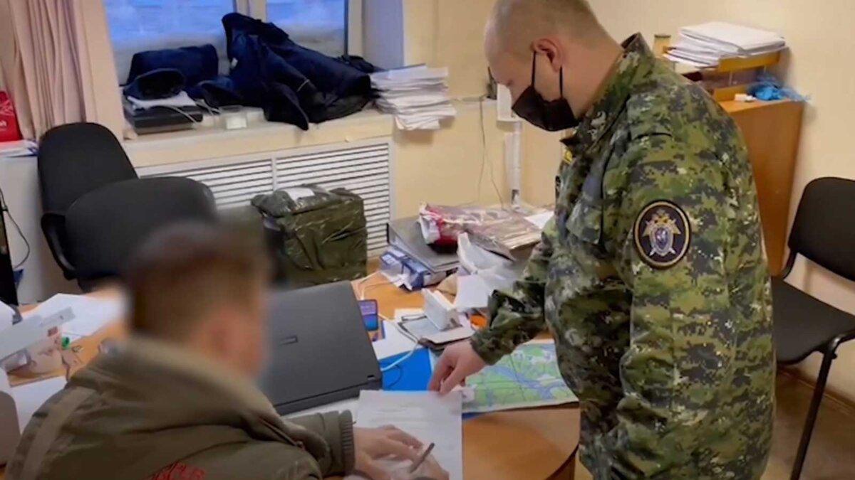 Следственный комитет Норильск заполняет документы