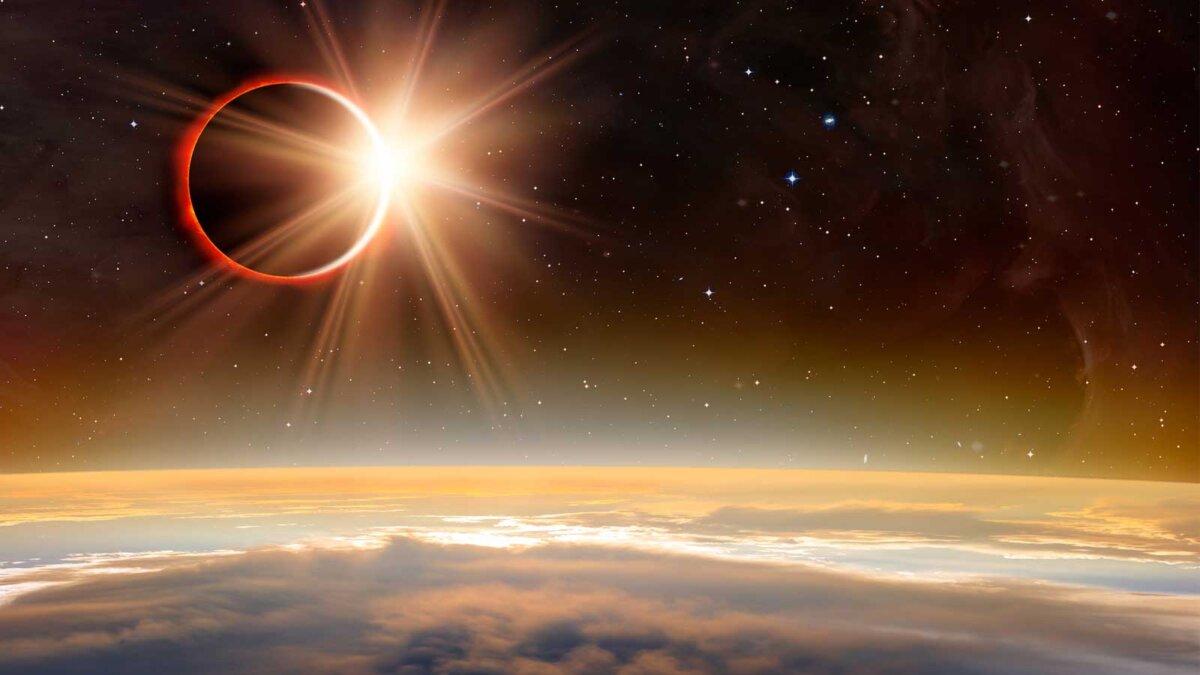 Солнечное затмение звезды