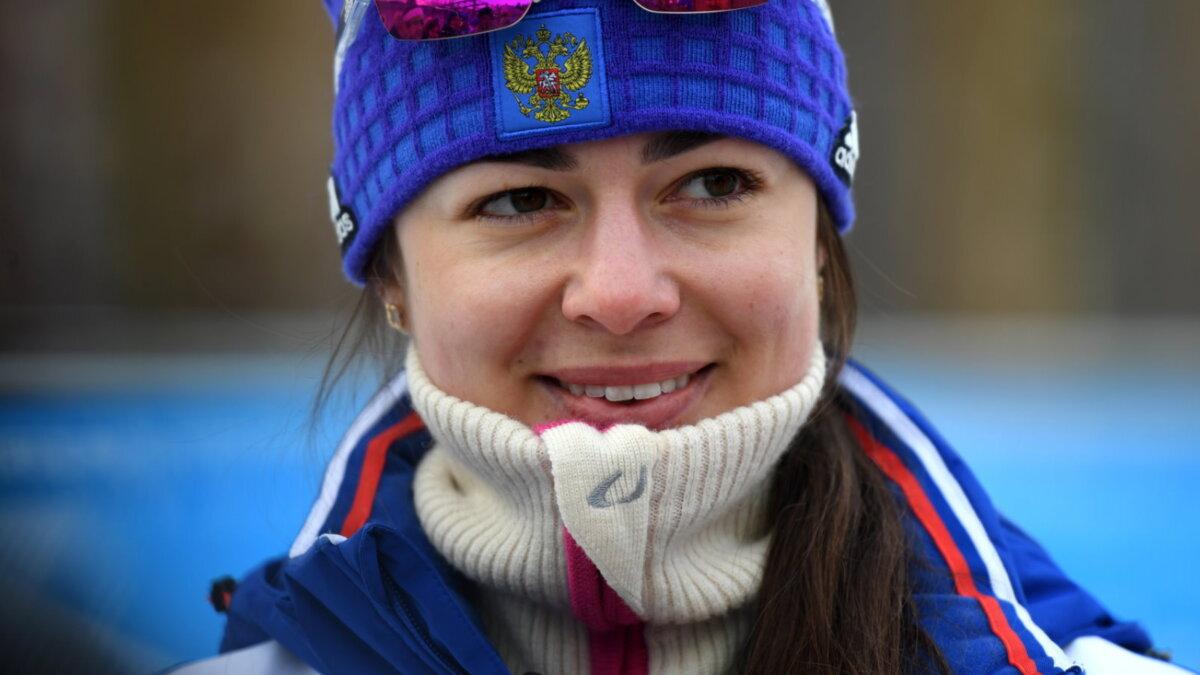 Биатлонистка Лариса Куклина два