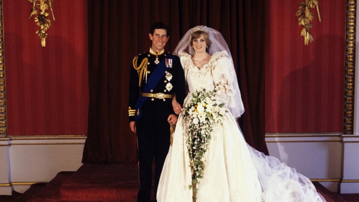 Свадьба леди Дианы Спенсер и принца Чарльза 1981 год