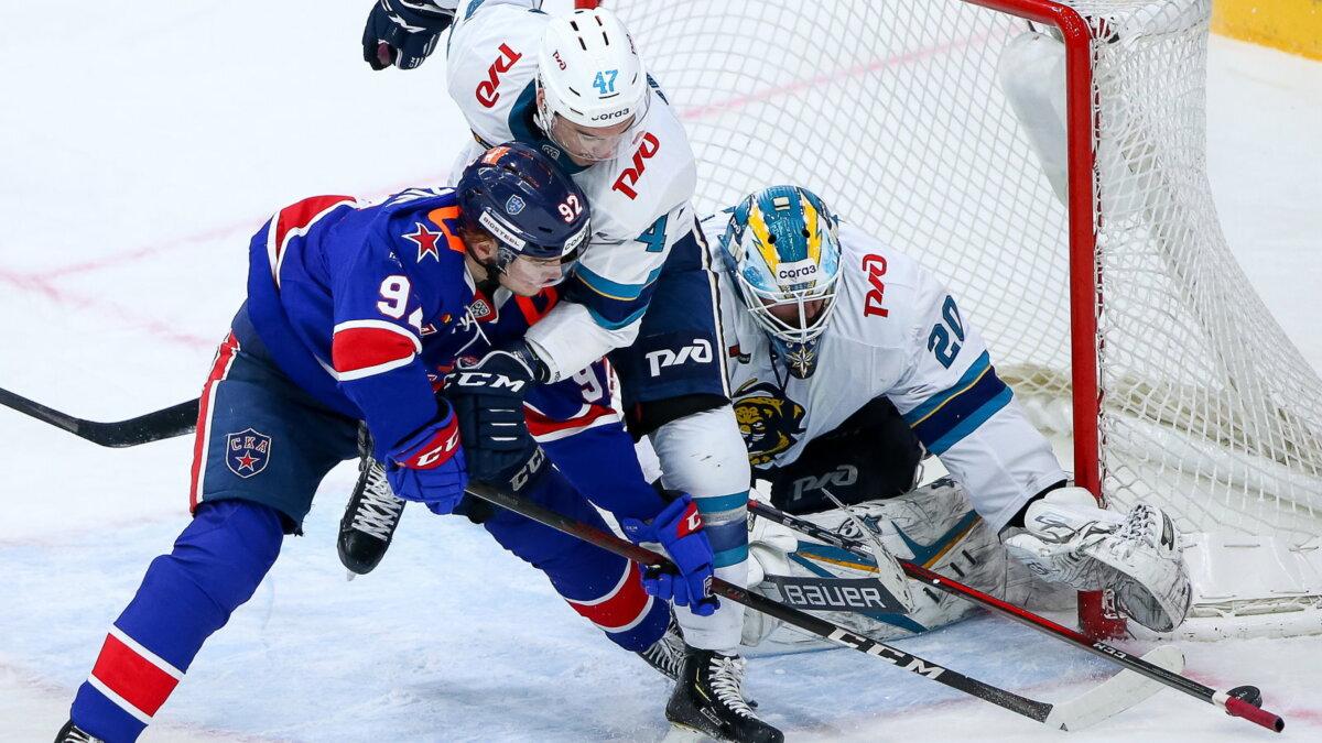 СКА – Сочи хоккей