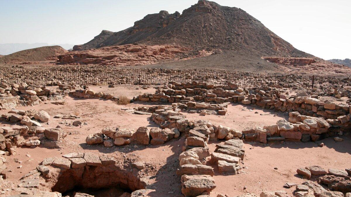 долина Тимна Израиль медные рудники
