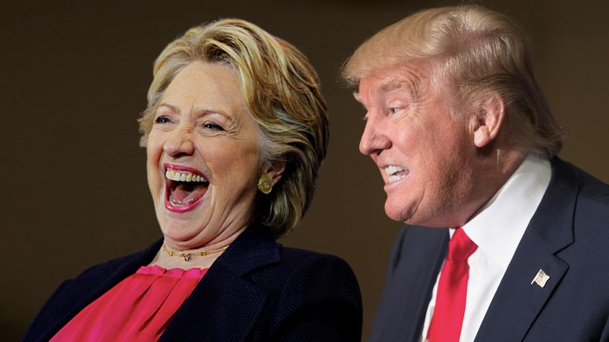 ДональдТрамп и Хиллари Клинтон