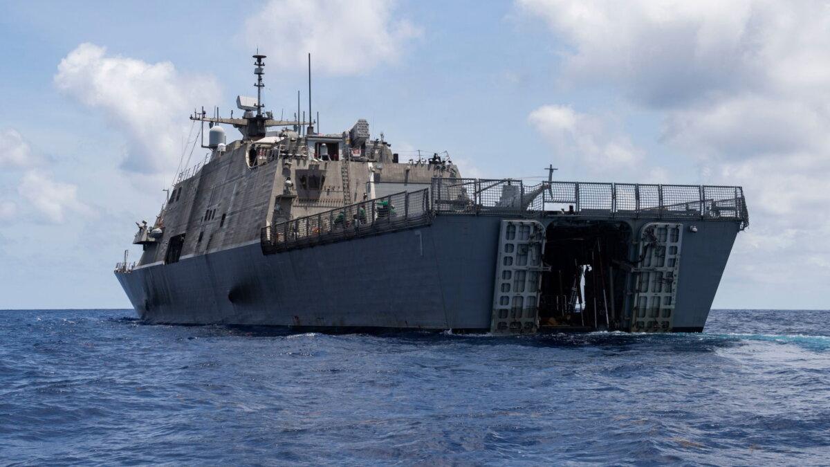 USS Detroit LCS-7