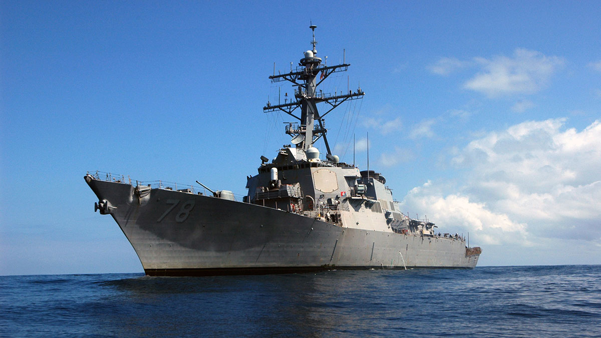 Эсминец ВМС США USS Porter DDG-78