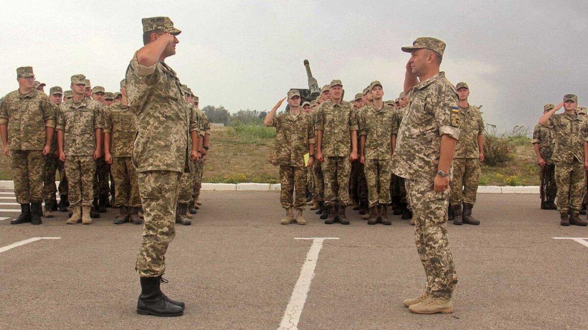 Украинская армия новая система званий военные