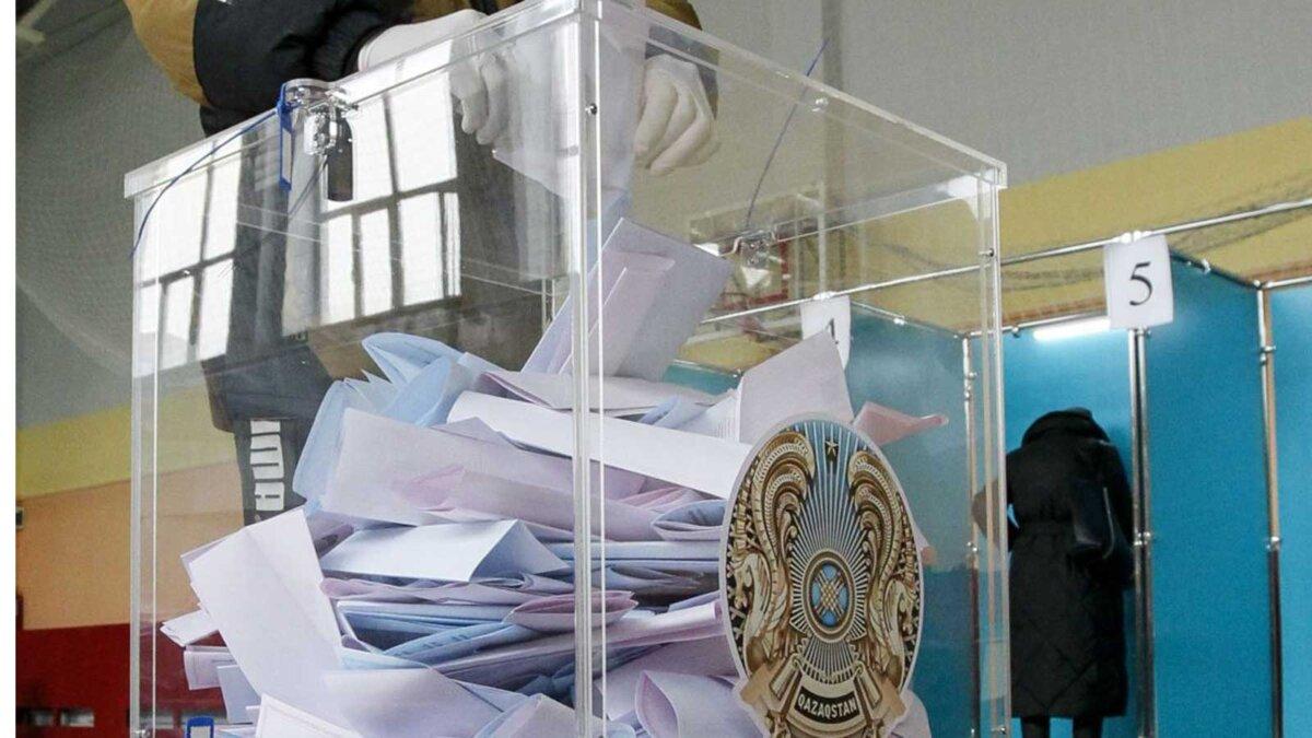 Выборы Казахстан Партия Nur Otan