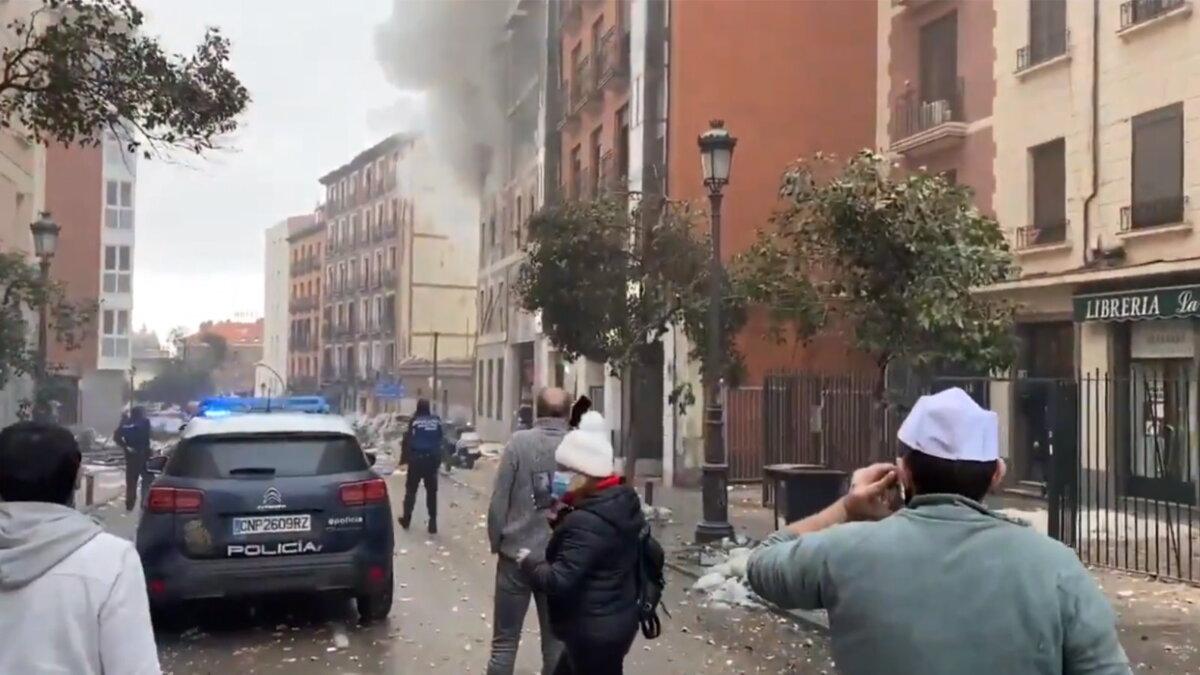 Взрыв в Мадриде