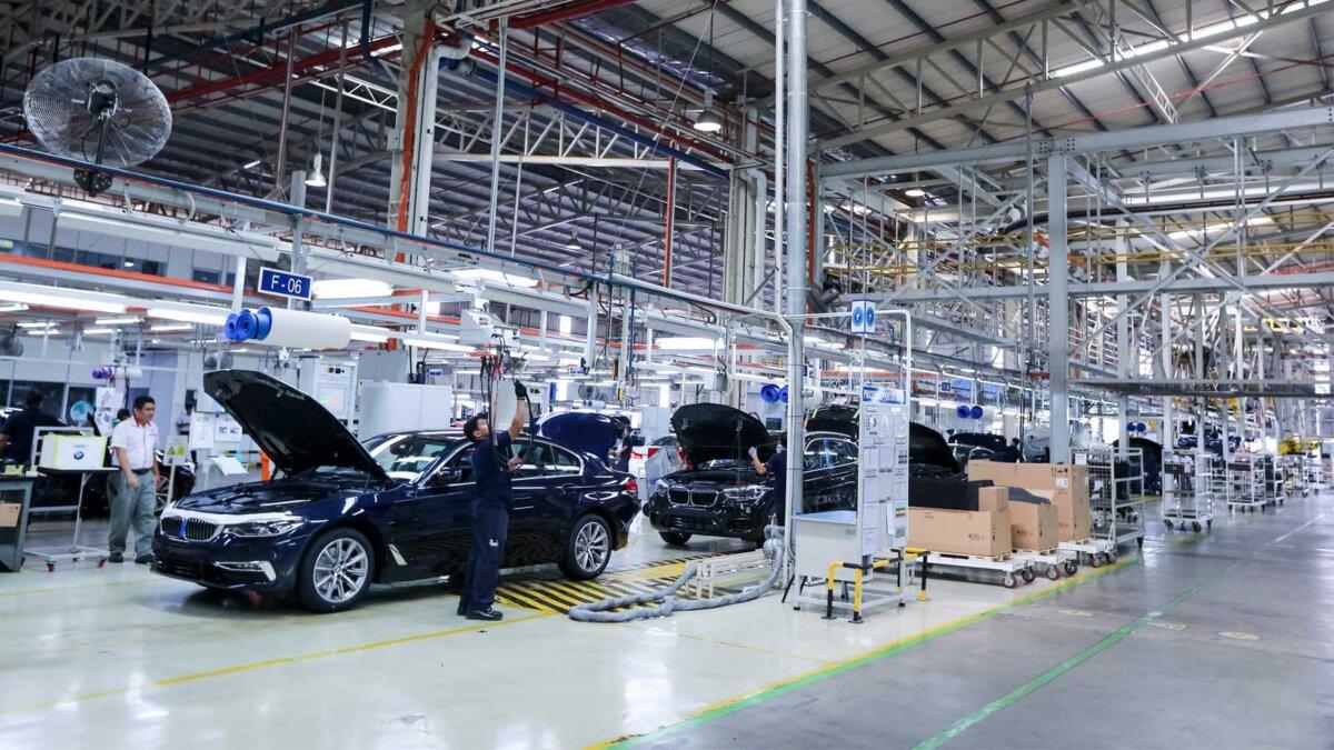 Завод БМВ the BMW plant