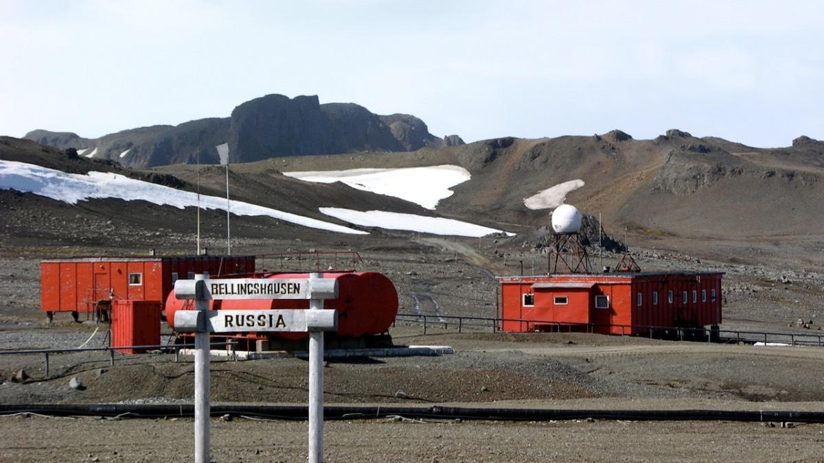 российская антарктическая станция беллинсгаузен