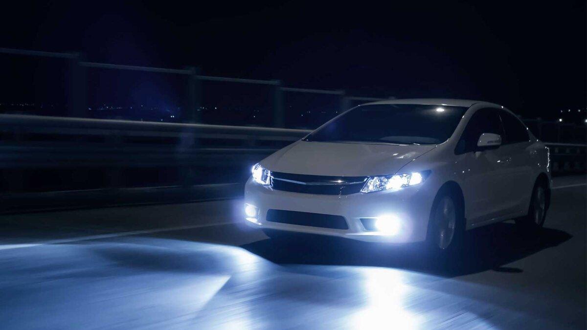 автомобиль ближний свет car low beam