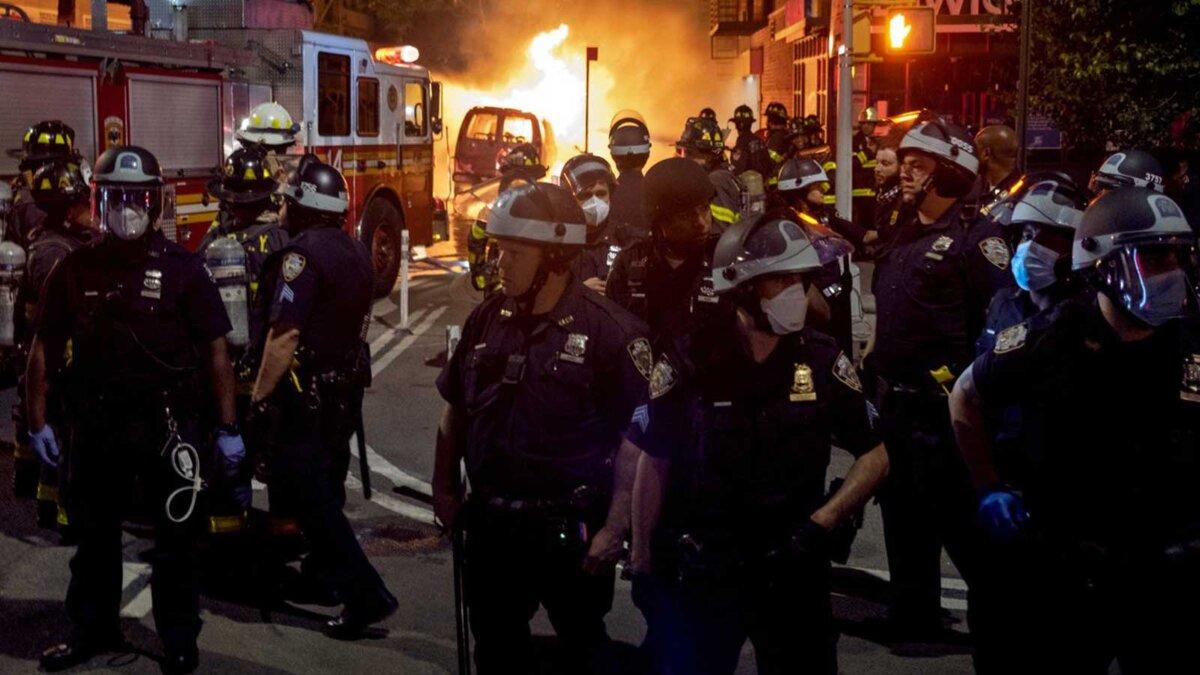 беспорядки полиция США
