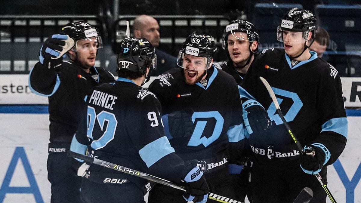 минское динамо кхл хоккей победа