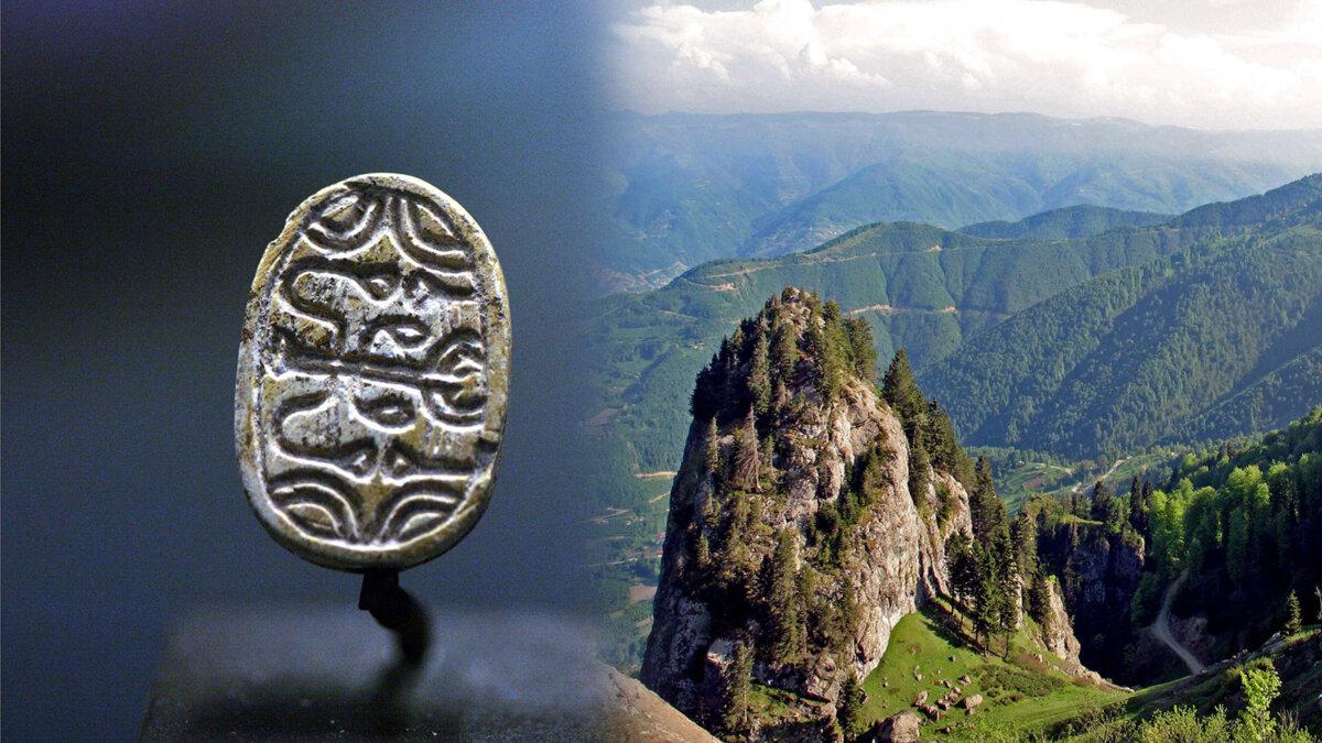 египетский символ скарабей и Команы Понтийские