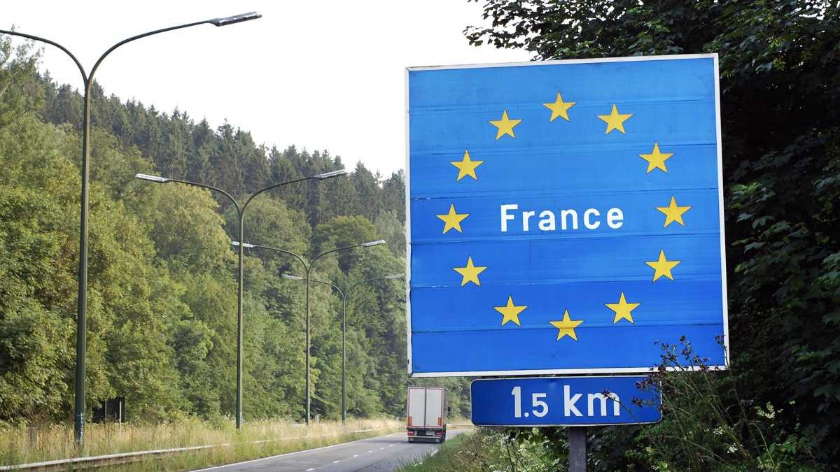 граница франции