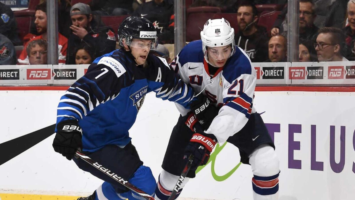 хоккей МЧМ Финляндия США