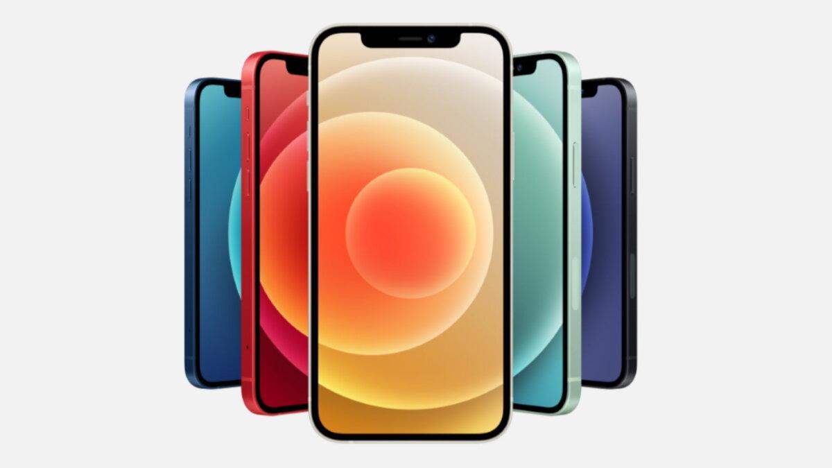 Apple iPhone 12 цвета