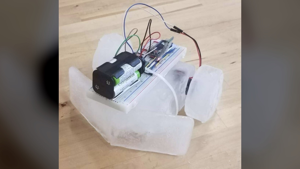 icebot робот изо льда