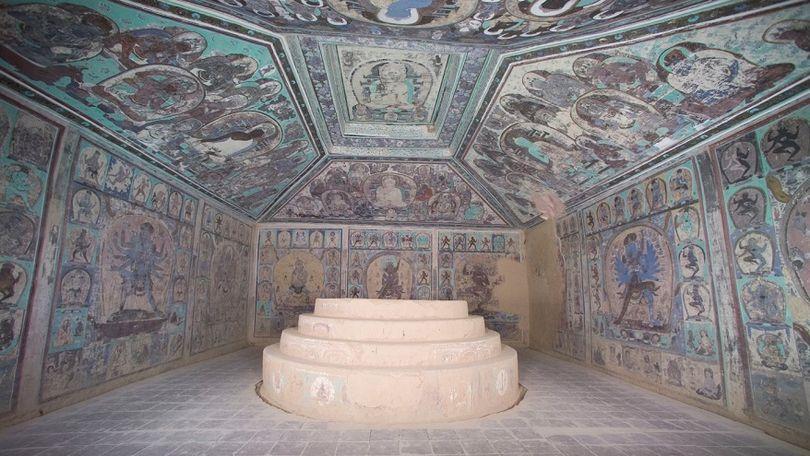 пещеры Могао роспись буддизм