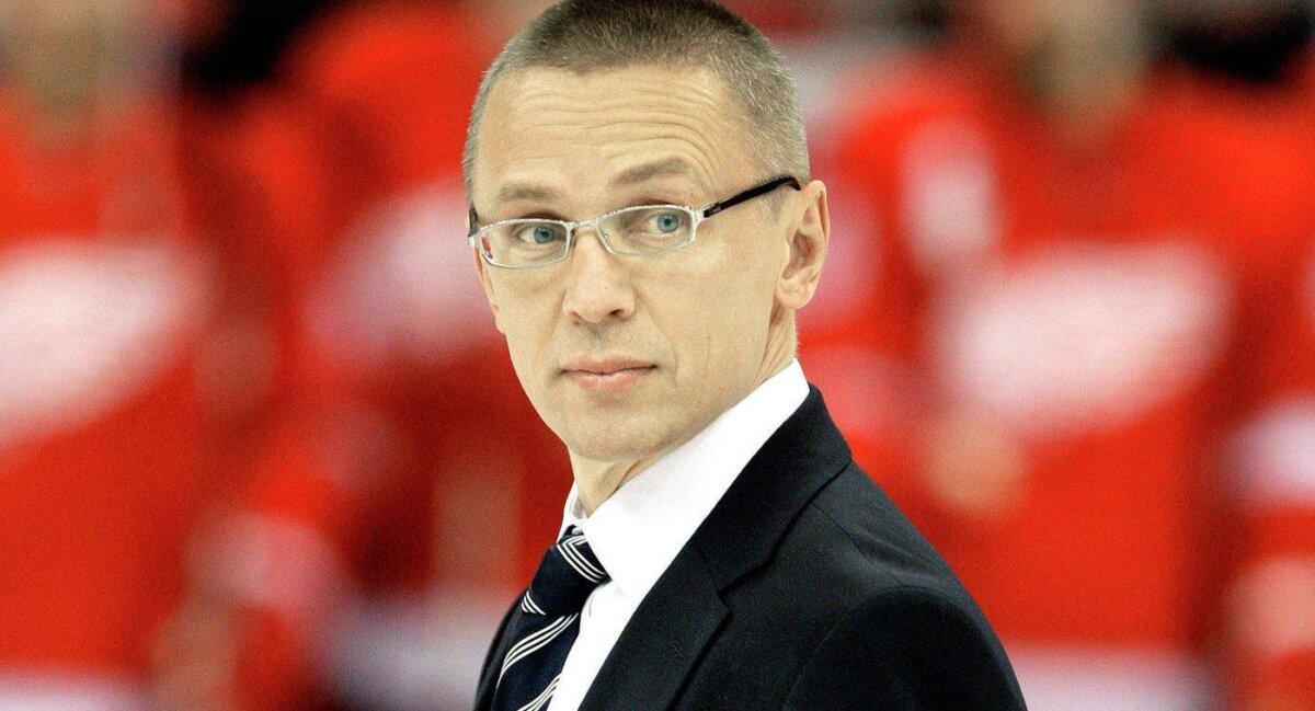 Игорь Ларионов, главный тренер молодежной сборной России по хоккею