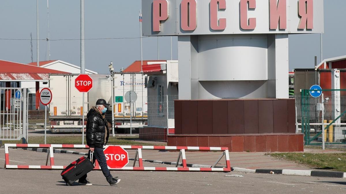 пограничный пункт на границе с Россией