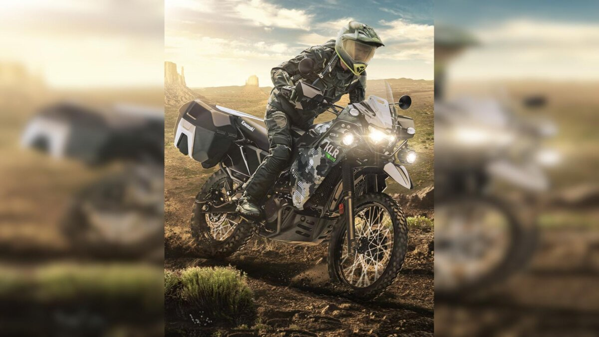 Kawasaki KLR650 мотоцикл эндуро