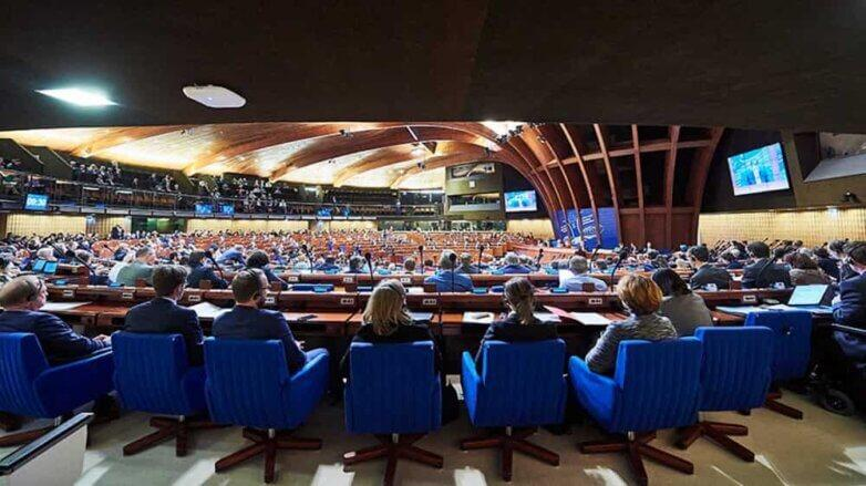ПАСЕ, Парламентская Ассамблея Совета Европы, зал заседаний