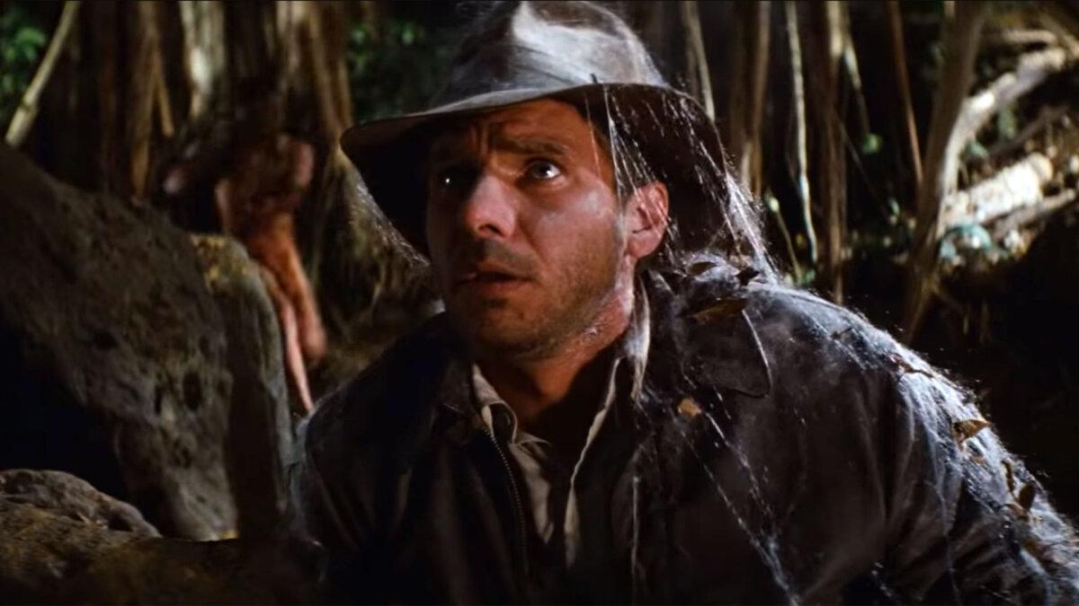 индиана джонс кадр из фильма харрисон форд