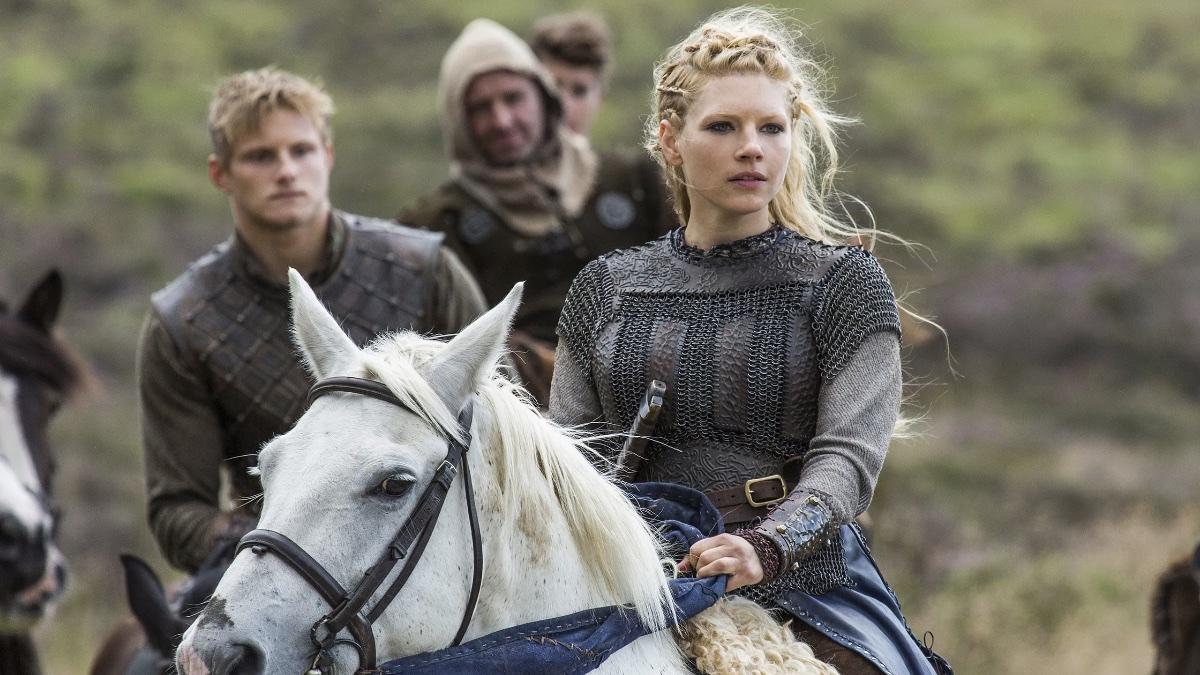 женщина-викинг в сериале Викинги